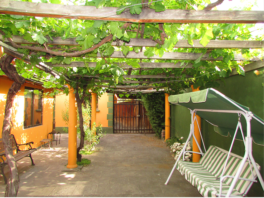 Segundo patio Casa de Reposo en Macul